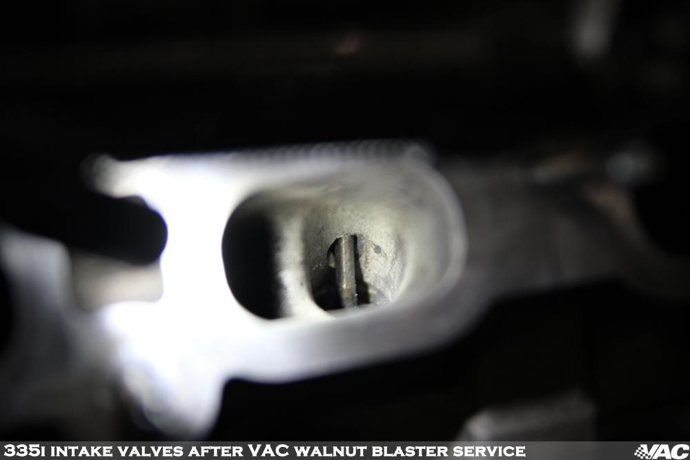 VAC Walnut Blaster Service   135i/335i/535i Intake Valve