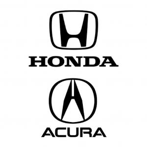 Honda and Accura
